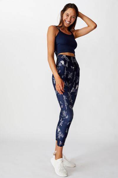 Reversible 7/8 Tight, SCRATCHY ANIMAL/NAVY