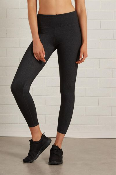 Active Core 7/8 Tight, BB CHARCOAL Y