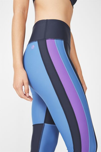 Colourblocked Tight, NAVY/MARINA BLUE