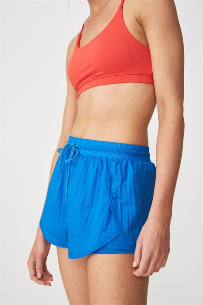 Crinkle Jogging Short, ELECTRIC BLUE