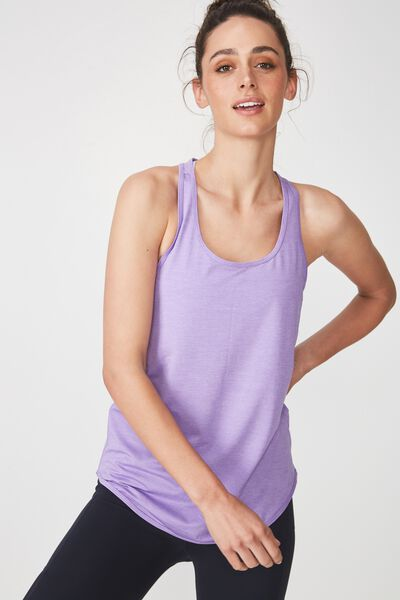 Training Tank Top, VIOLET FIZZ MARLE
