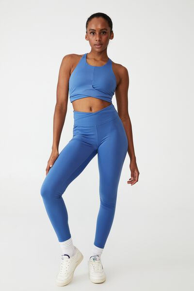 Ultra Soft Movement Full Length Tight, ANTIQUE BLUE