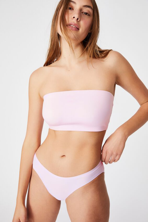Everyday Bonded Bandeau, LILAC SNOW