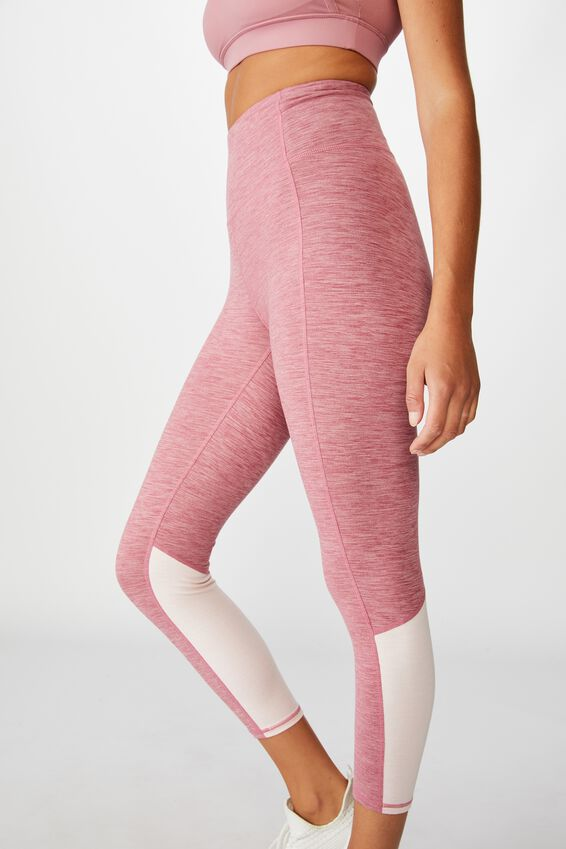 So Soft Marle 7/8 Tight, WASHED ROSE MARLE SPLICE