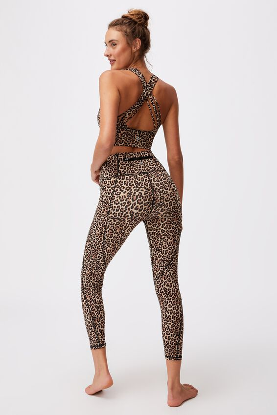 Ultimate Booty 7/8 Tight, MICRO SUMMER LEOPARD