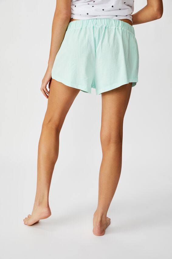 Jersey Bed Short, FADED MINT