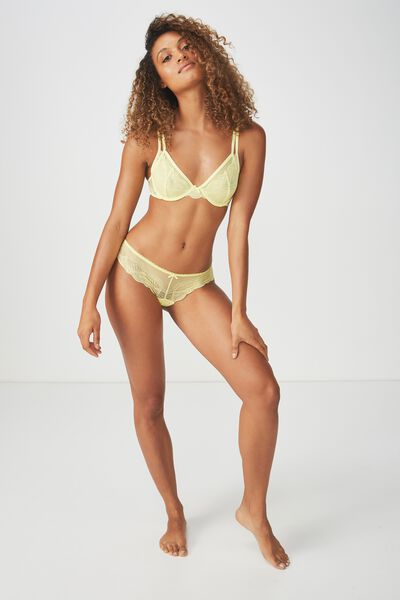 Cindy Brasiliano Brief, SOFT LIMEAID
