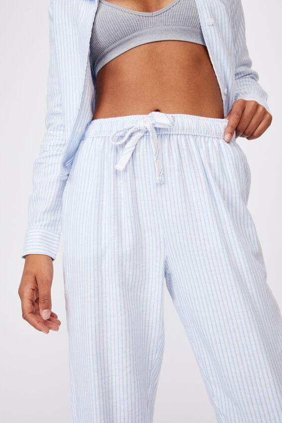 Flannel Sleep Pant, PYJAMA STRIPE