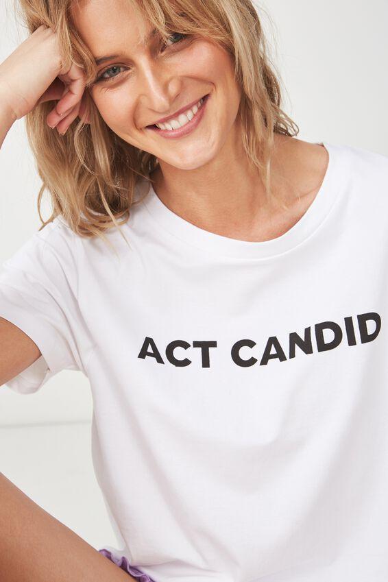 Boyfriend Tshirt, ACT CANDID