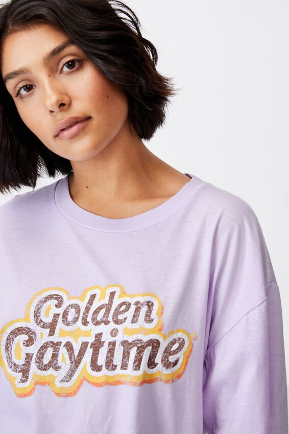 90S Bed T Shirt, LCN STREETS GAYTIME