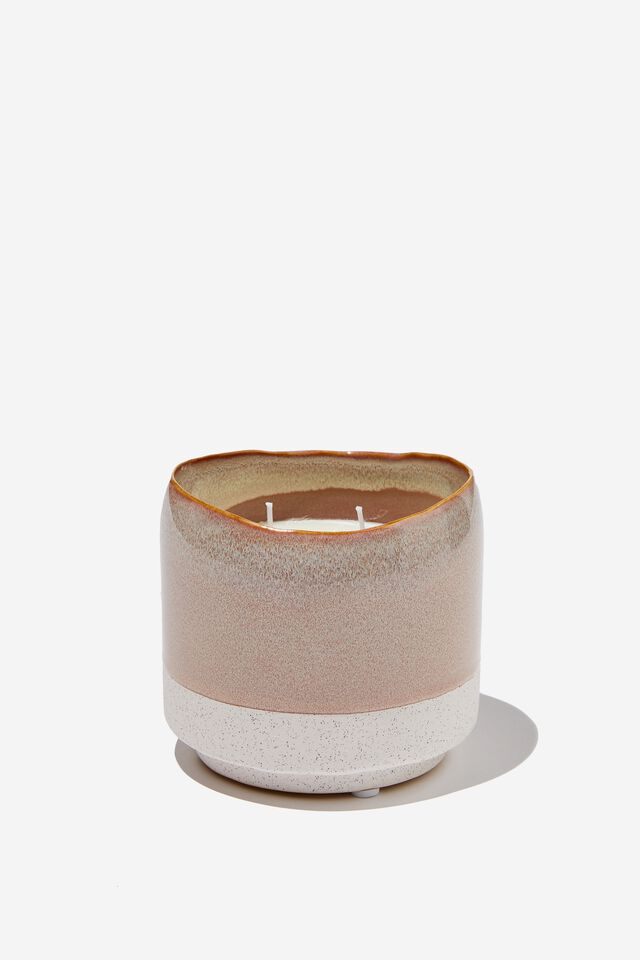 Down Time Candle, NECTARINE BLOSSOM & HONEY