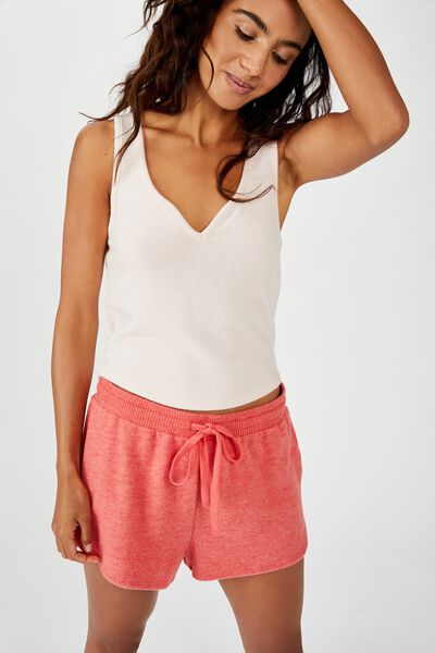 Supersoft Crop Tank, CRYSTAL PINK