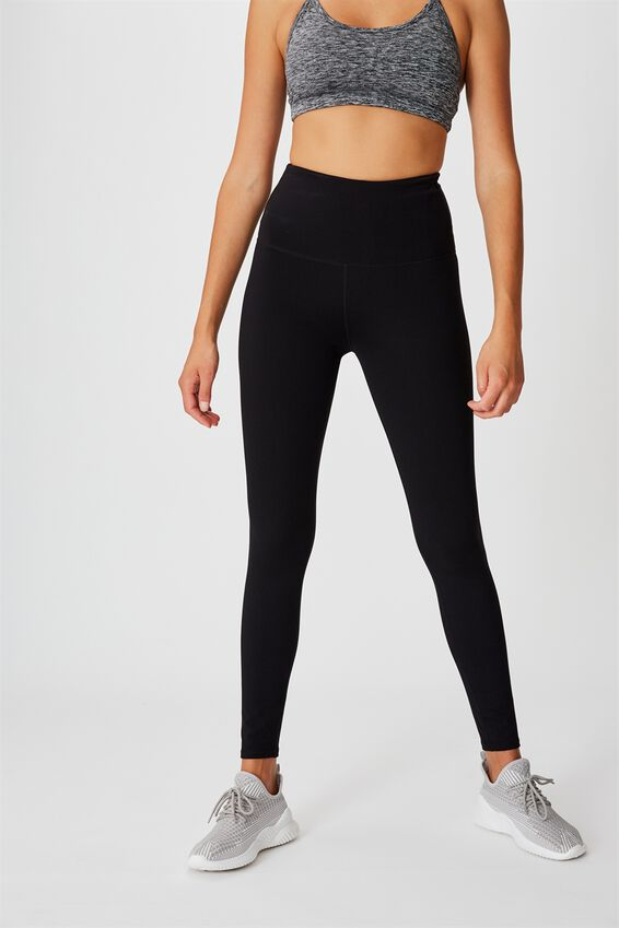 Active High Waist Core Tight, CORE BLACK