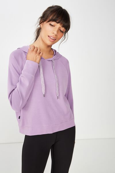 Chalky Long Sleeve Top, PURPLE DOVE