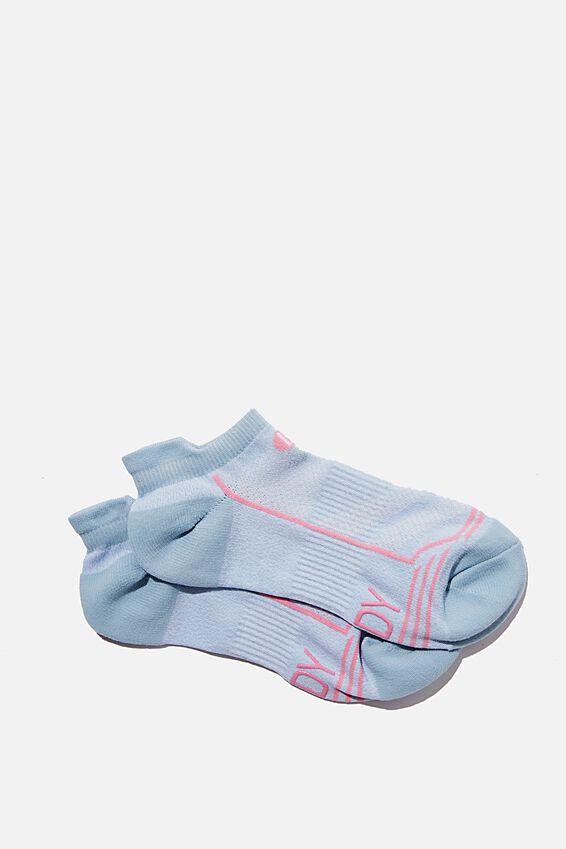 Running Sock, BABY BLUE