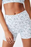 Get Cheeky Shortie Short, WASHED VINTAGE DITSY BLUES
