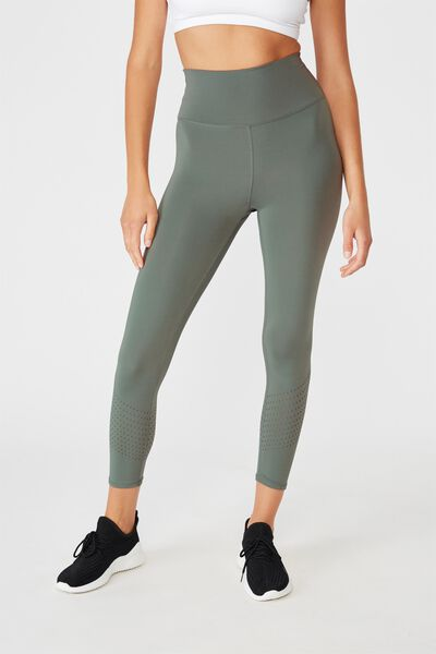 Lifestyle 7/8 Tight, OIL GREEN LASER
