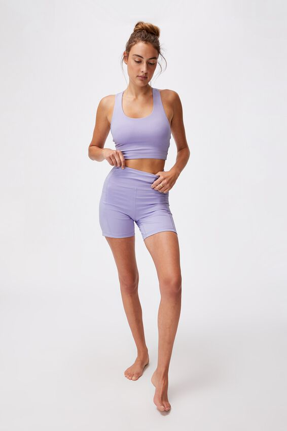 Lifestyle Pocket Bike Short, CHALKY LAVENDER