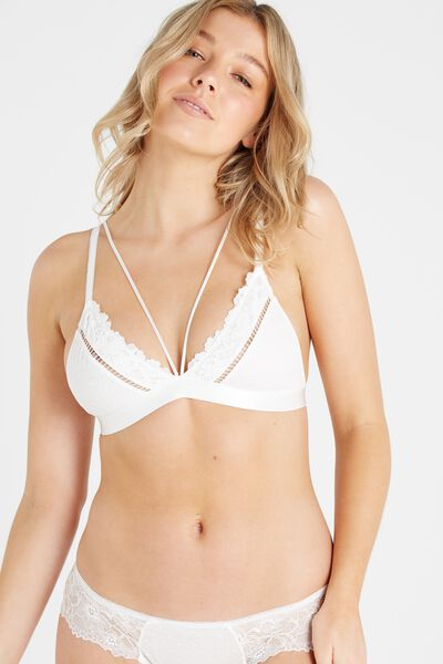 Dakota Lace Bralette, CREAM