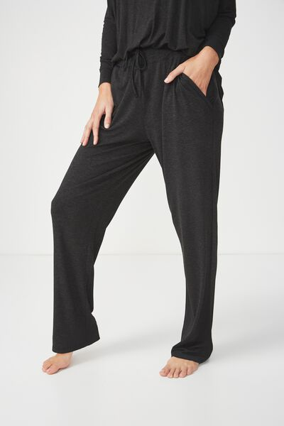 Sleep Recovery Relaxed Pant, BLACK MARLE