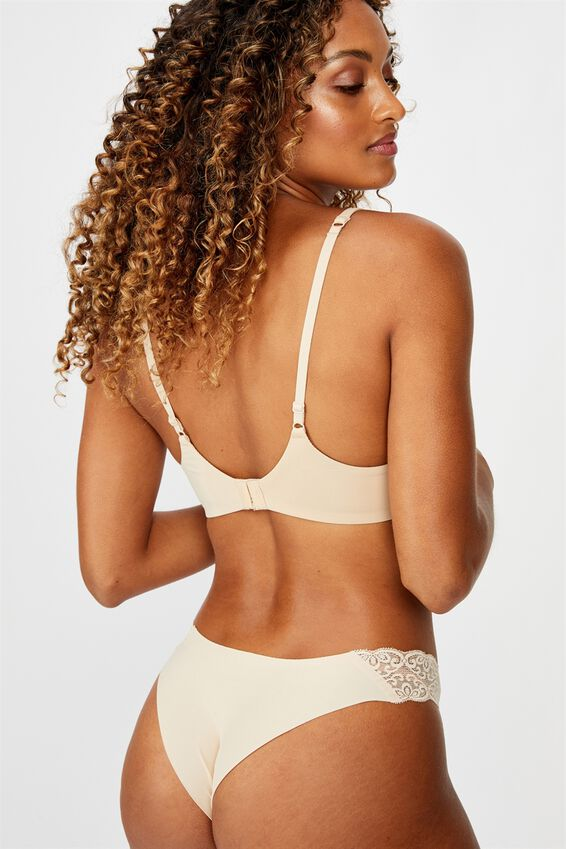 Wirefree Everyday T-Shirt Bra, NEW FRAPPE