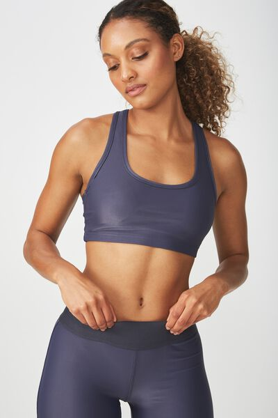 Workout Cardio Crop, SHADOW SHIMMER