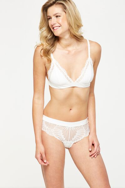 Pretty Poppy Brasiliano Brief, CREAM