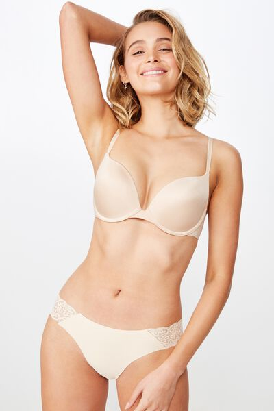 Ultimate Comfort Push Up Bra, FRAPPE
