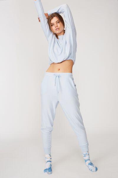 Supersoft Slim Fit Pant, SOFT BLUE MARLE