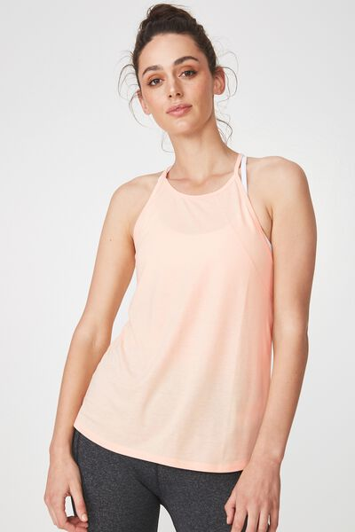 Refined Tank Top, BLEACHED APRICOT