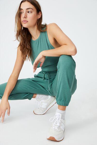 Lifestyle Gym Track Pant, SMOKED GREEN