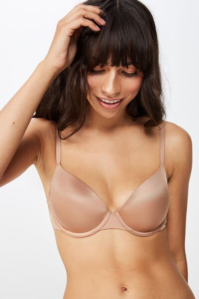 Ultimate Comfort T-Shirt Bra, CINNAMON