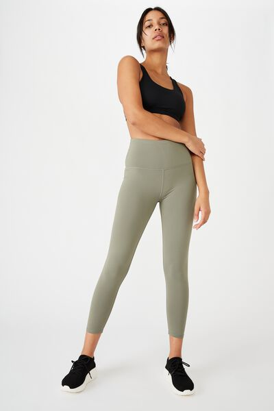 Active High Waist Core 7/8 Tight, CORE STEELY SHADOW