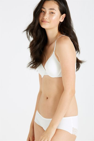 Everyday T Shirt Bra, CREAM
