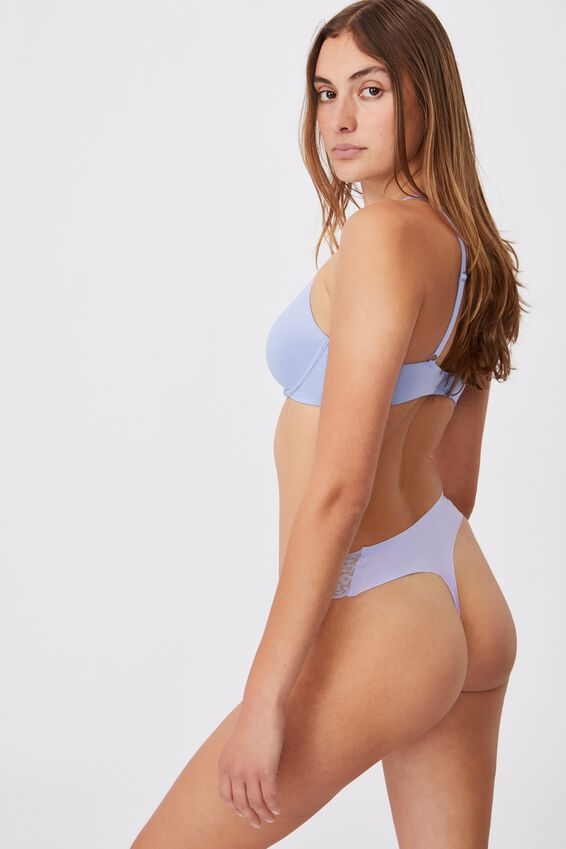 Party Pants Seamless G-String Brief, CHALKY LAVENDER