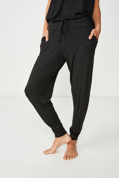 Premium Sleep Pant, BLACK MARLE