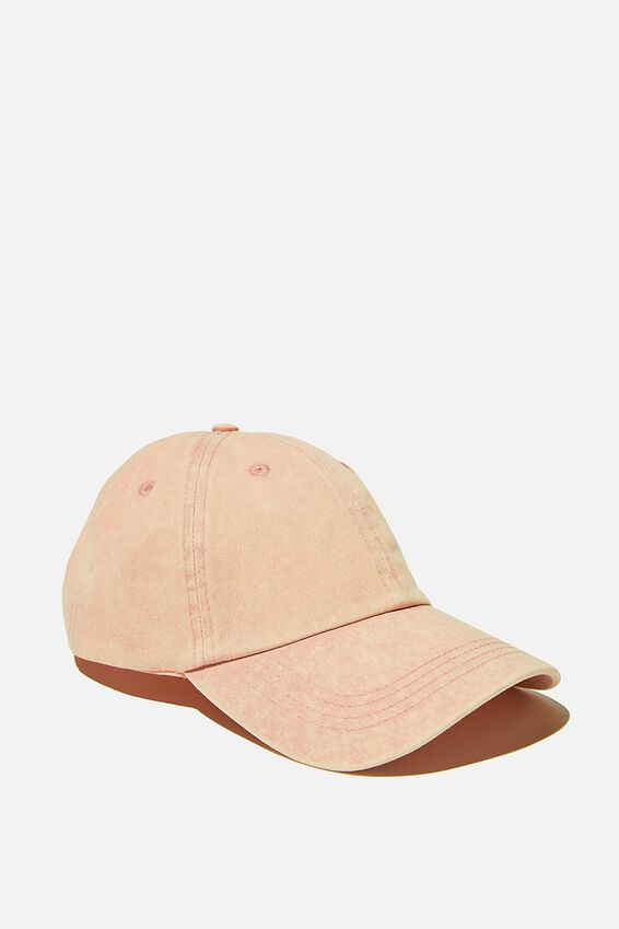 Road Trip Cap, WASHED PRETTY PINK