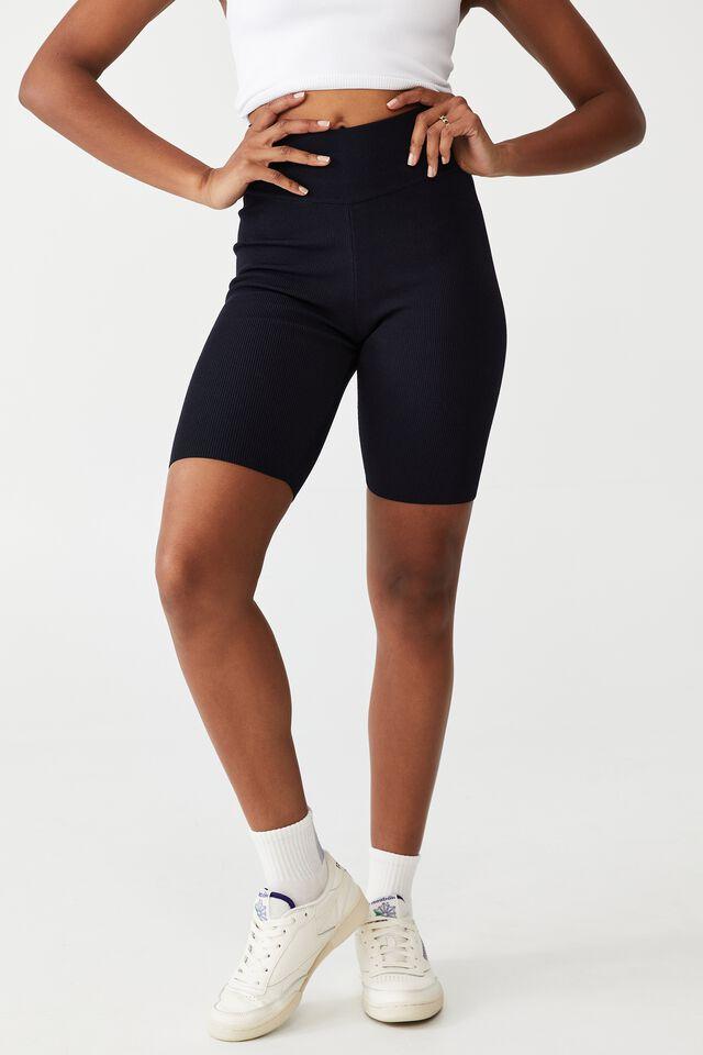 Comfort Mid Length Bike Short, NAVY