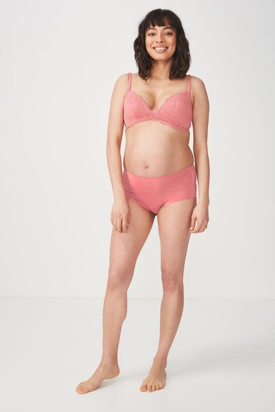 Ultimate Comfort Lace Maternity, ROSEY PINK