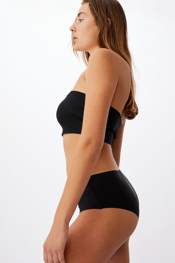 Everyday Bonded Bandeau, BLACK