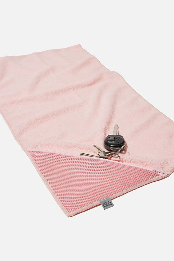 Sweat It Out Towel, BLUSH
