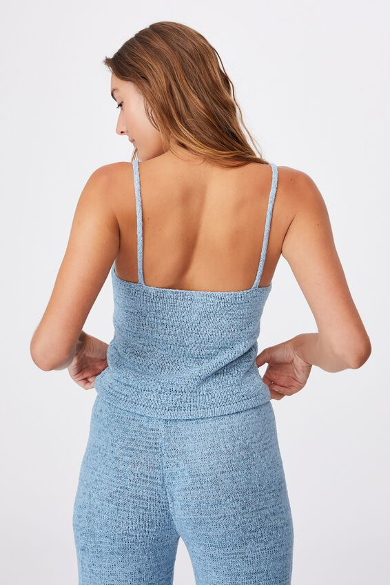Summer Lounge Singlet, GLACIER BLUE