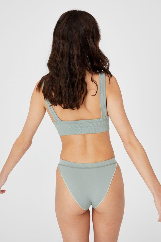 Seamfree Tanga Bikini, DESERT SAGE