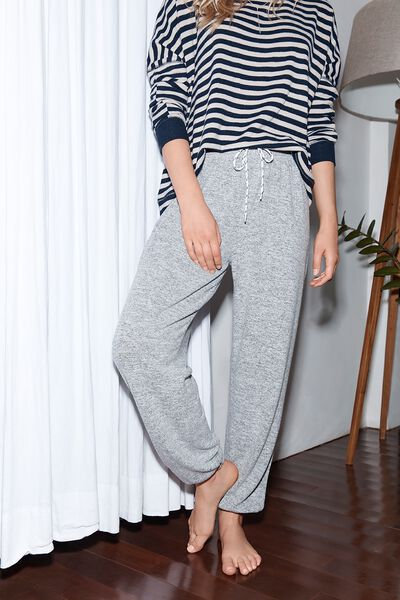 Super Soft Lounge Pant, GREY MARLE