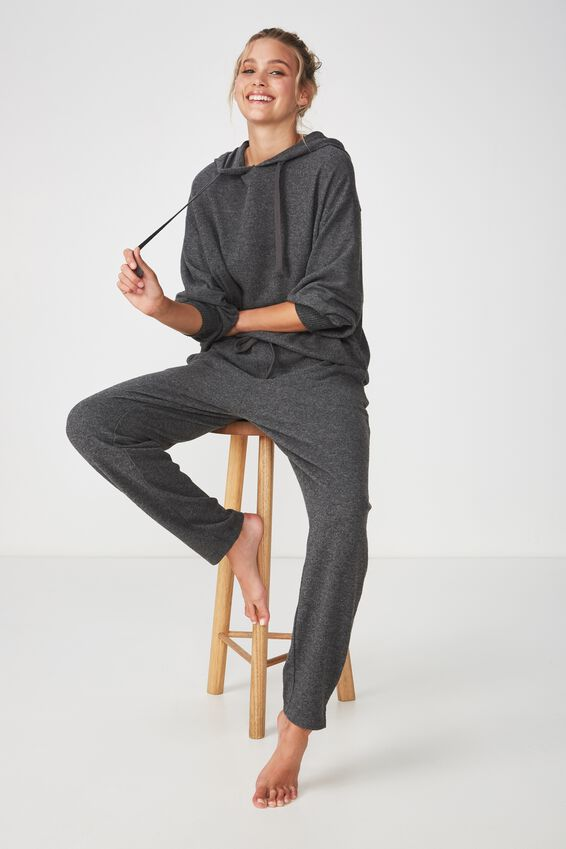 Super Soft Relaxed Pant, ASPHALT MARLE