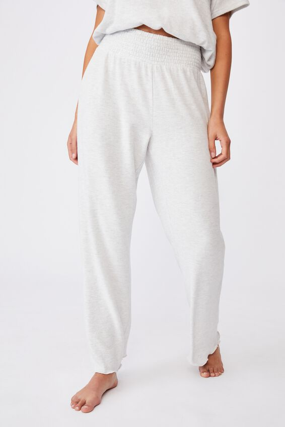 Super Soft Relaxed Pant, SOFT GREY MARLE