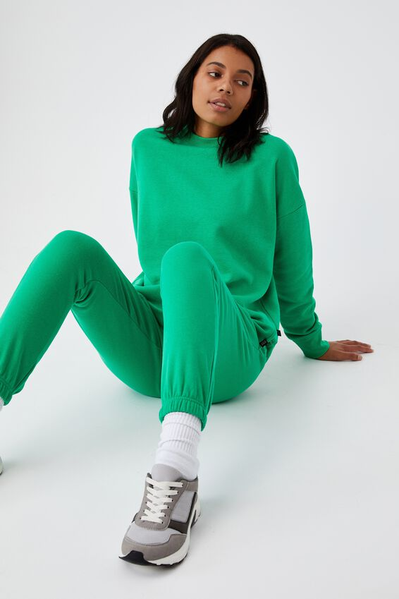 Lifestyle Gym Track Pant, GREEN EMERALD