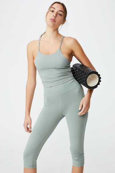 Breathe Yoga Vestlette, GREEN HAZE