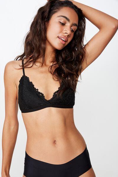 Olivia Bralette, BLACK