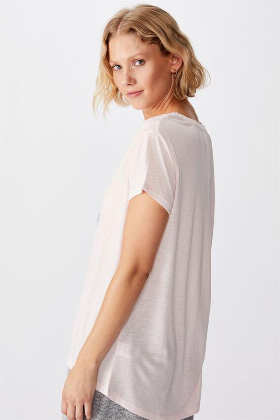 Dreamy Sleep T-Shirt, JINGLE LADIES/CRYSTAL PINK